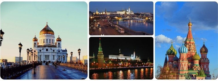 Russian vacations: find best Moscow tourist attractions